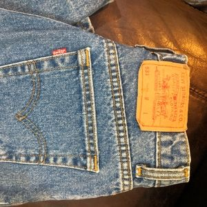 Levi's 531 High Rise Mom Jeans
